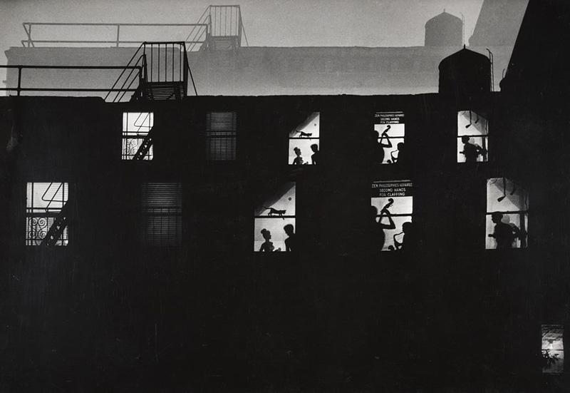 W. Eugene Smith. Jazz Loft, 1959