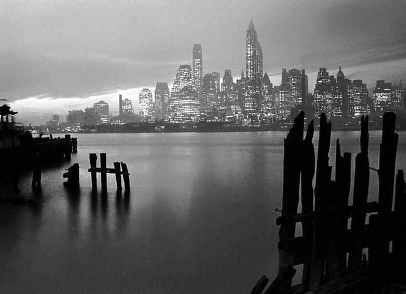 Manhattan Skyline, 1946 by Fred Stein