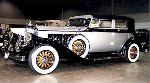 """В продолжение Автомобиль Тесла :  """"Pierce-Arrow """", на котором Тесла установил электромотор переменного тока мощностью в..."""