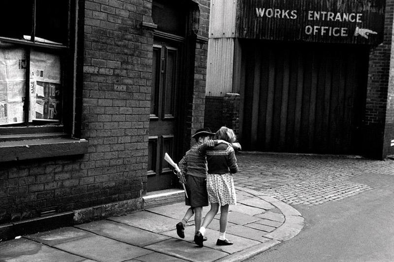 Colin O'Brien Cowboy and girlfriend, 1960