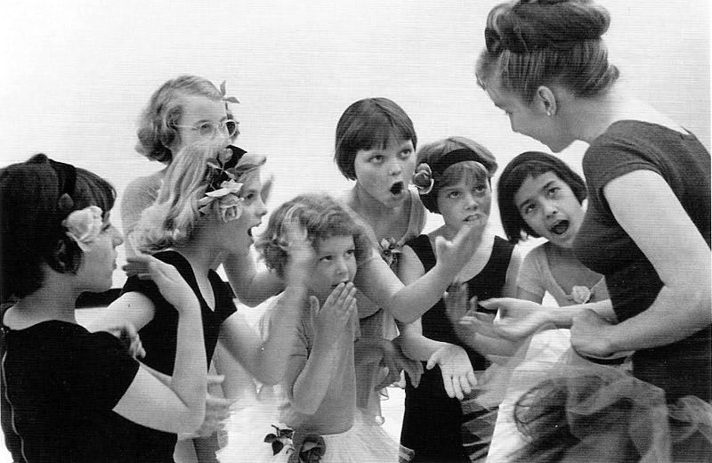 Sam Tat Ballet class deaf children, 1965