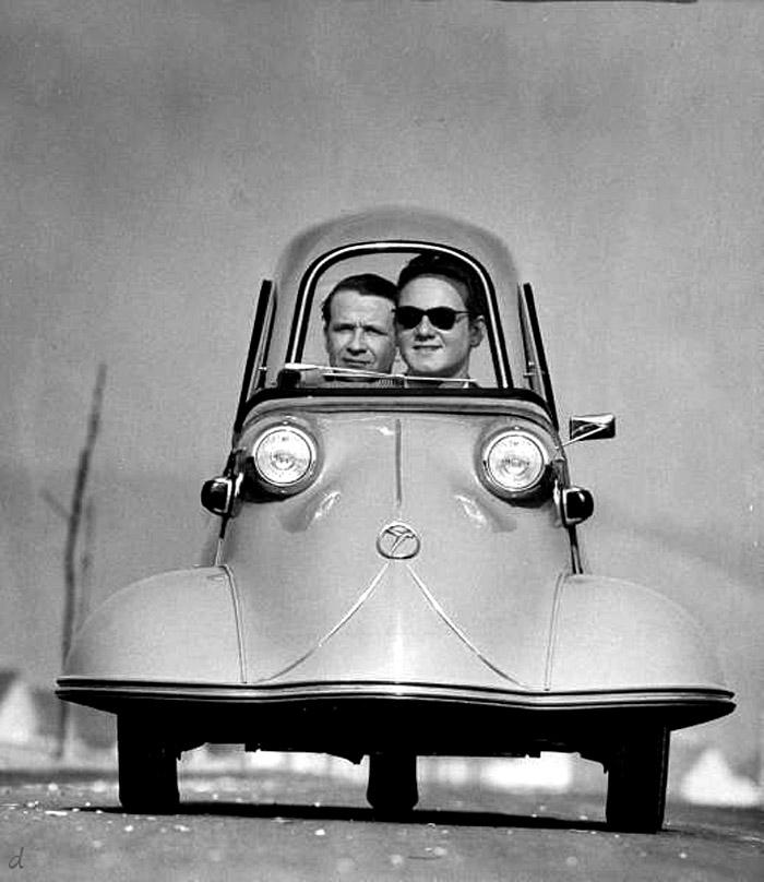 3 Wheeled Messerschmidt Auto 1954