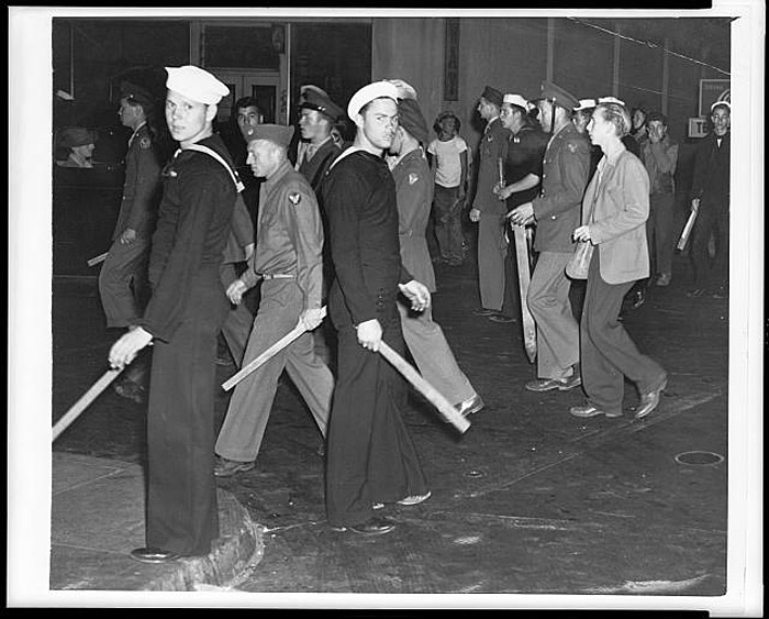 analysis of zoot suit riot that took place during the second world war in united states