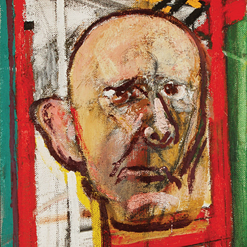 Self-Portrait (with Easel), 1998