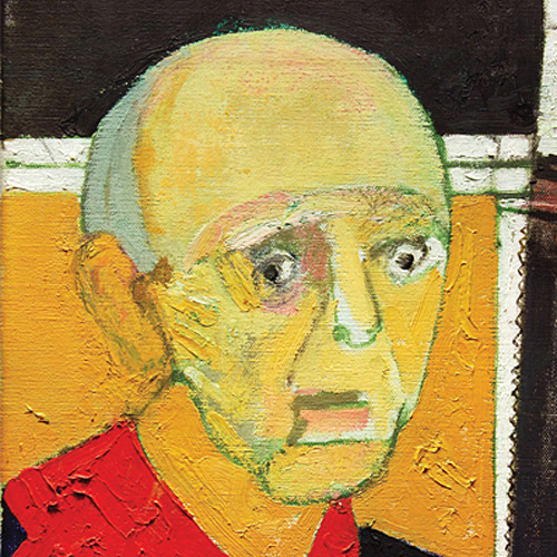 Self-Portrait with Saw, 1997