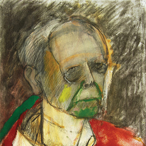 Self-Portrait (Red), 1996