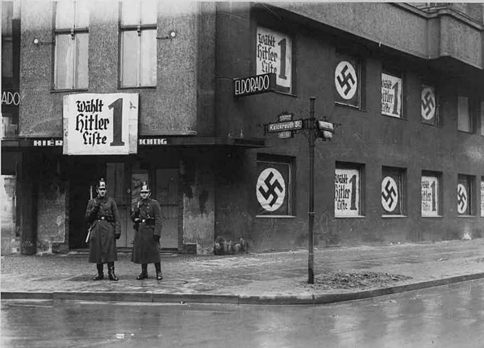 Nazis close down the gay club Eldorado in Berlin, 1938