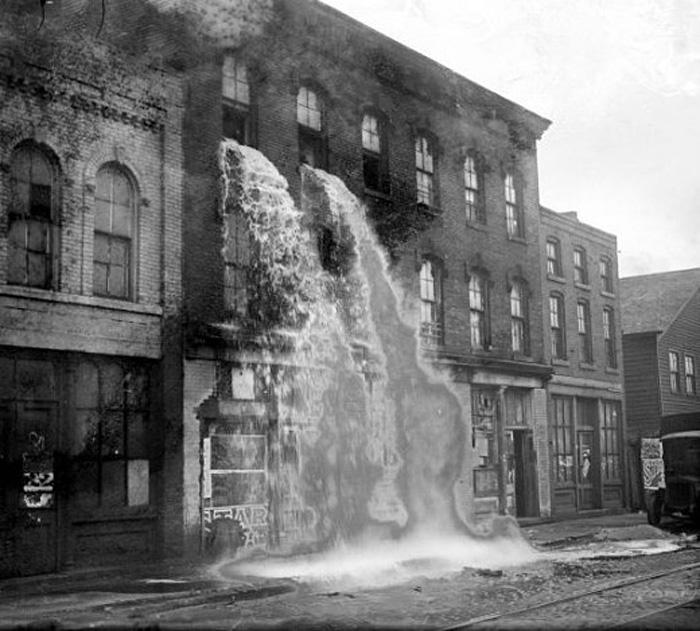 Prohibited Alcohol flood, 1929
