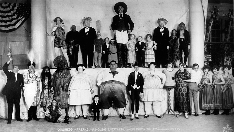 Congress of Freaks - Baileys Circus (1924)