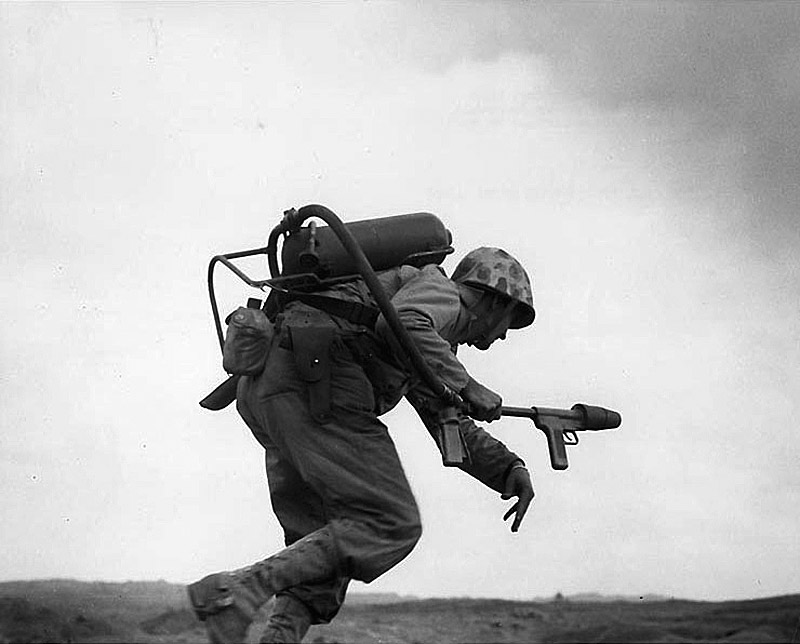 wo Jima, February 1945