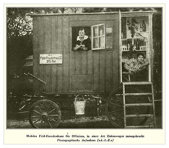Mobile Field-Pleasure House for Officers
