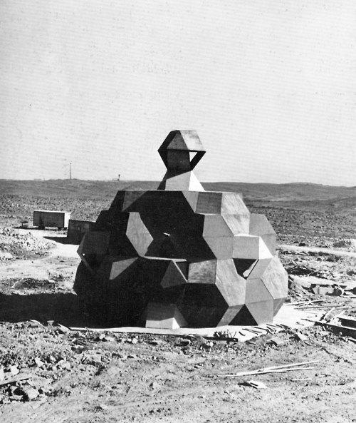 Synagogue, Negev Desert, Israel, 1967-69