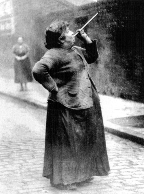 Mary Smith earned sixpence a week shooting dried peas at sleeping workers windows