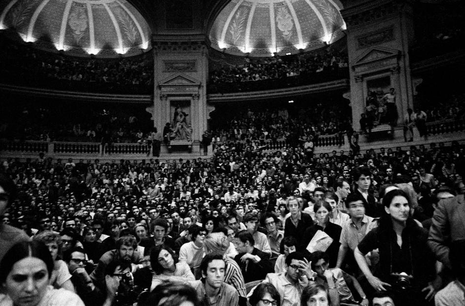 Bruno Barbey, Occupation of the Sorbonne, Paris, May '68