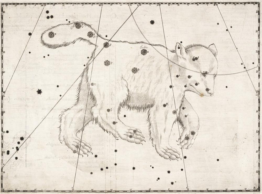 Нарисованные картинки созвездий