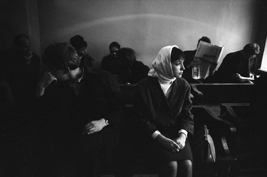 Eve Arnold. Divorce. 1965
