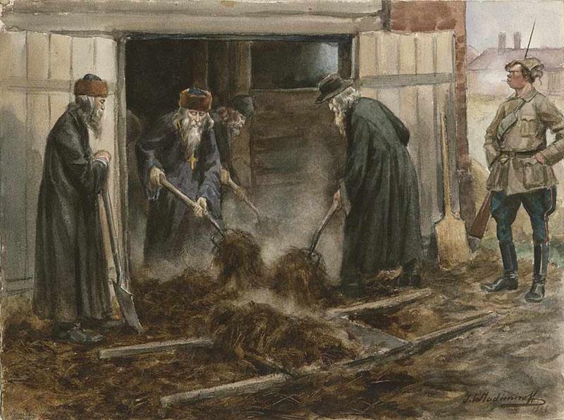 Русское духовенство на принудительных работах