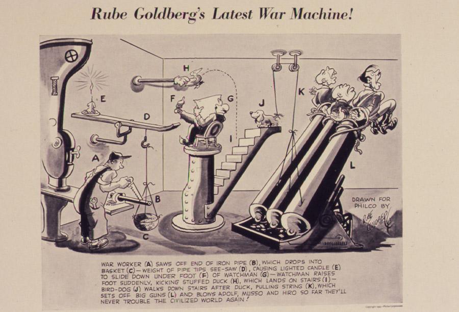 Rube_Goldberg's_latest_war_machine^_-_NARA_-_534875