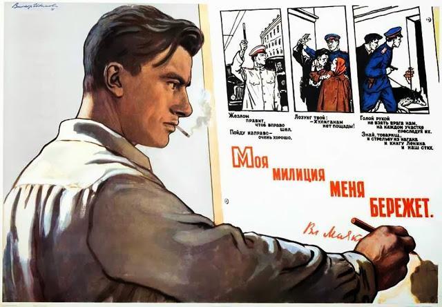 Vintage Posters of Soviet Police (10)