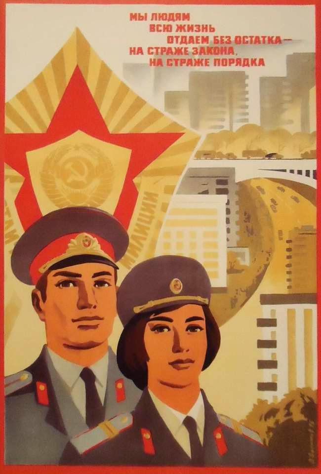 Vintage Posters of Soviet Police (18)