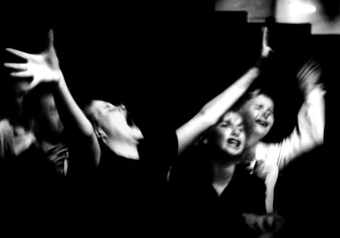 Bob Willoughby. Girls Screaming at Jazz concert, Los Angeles, 1951.