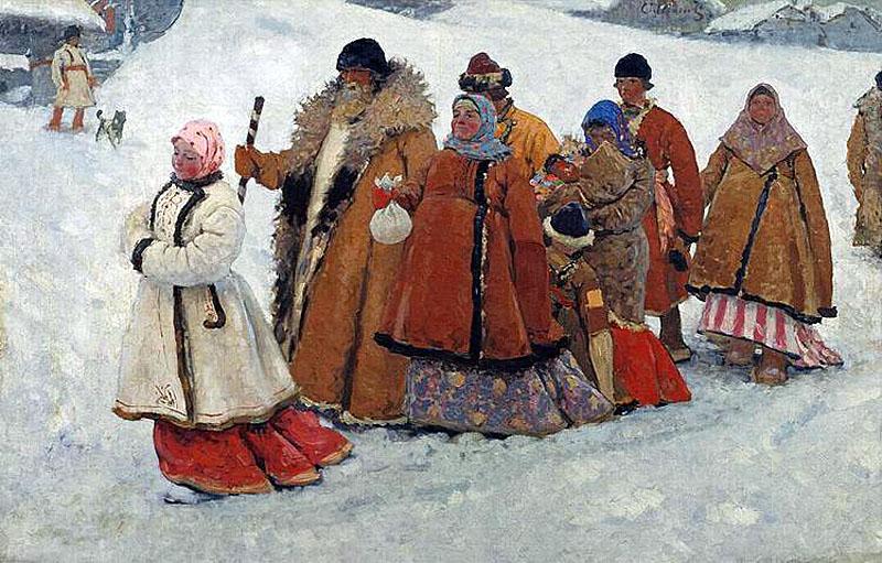 Сергей Иванов.Семья. 1907