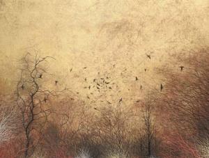 kayama_matazo-kanrin_guncho_flock_of_birds_in_a_win~OMa25300~10157_20030324_1210_210