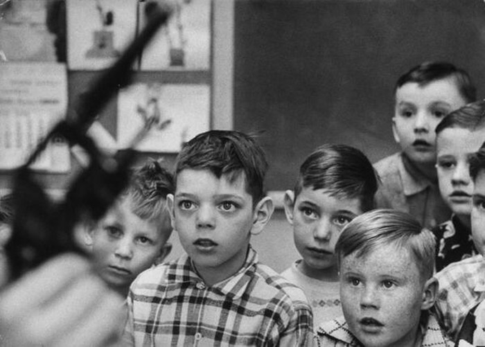 Gun safety instruction in Indiana, 1956