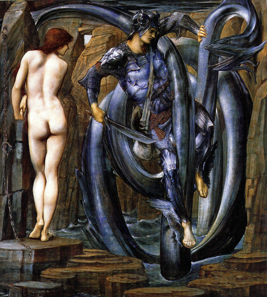 The Doom Fulfilled — Edward Burne-Jones
