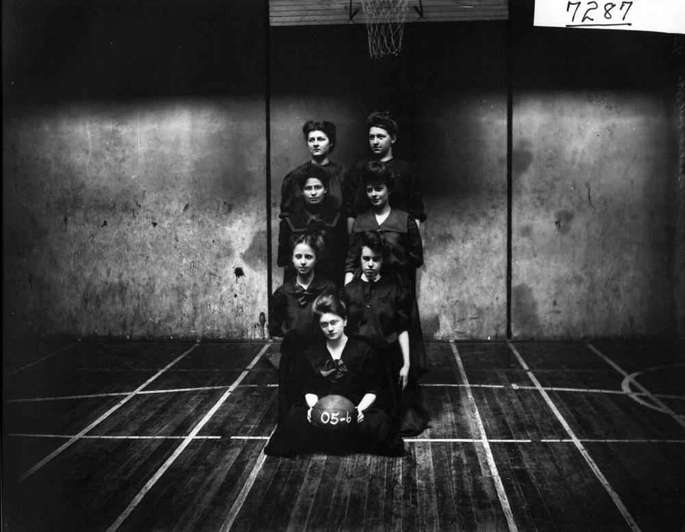 Miami women's basketball team ca. 1906