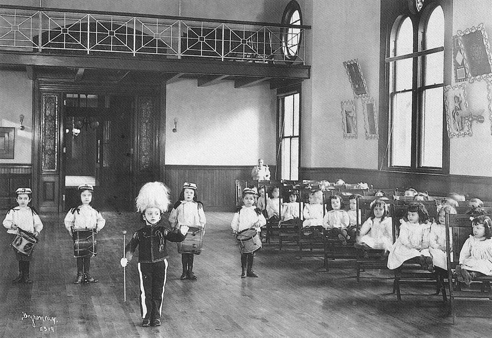 New York Foundling Hospital - New York City - 1899-1900