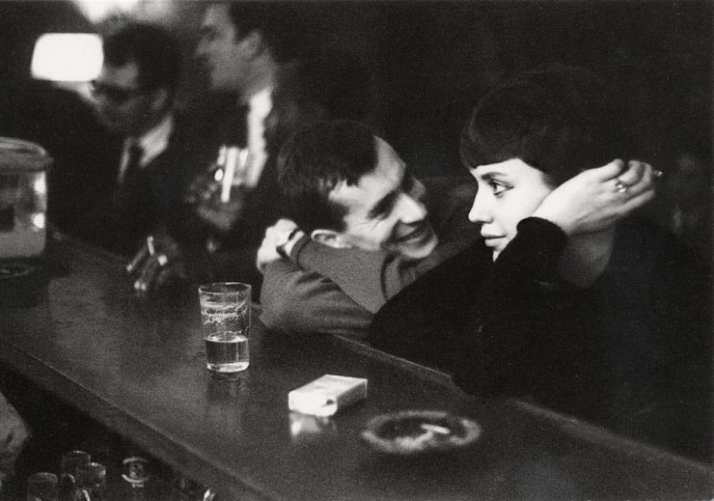 Paul Almásy, Couple dans un bar Parisien, 1960
