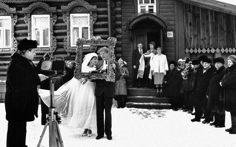 Vladimir Lagrange.Wedding in Vyazniki1970