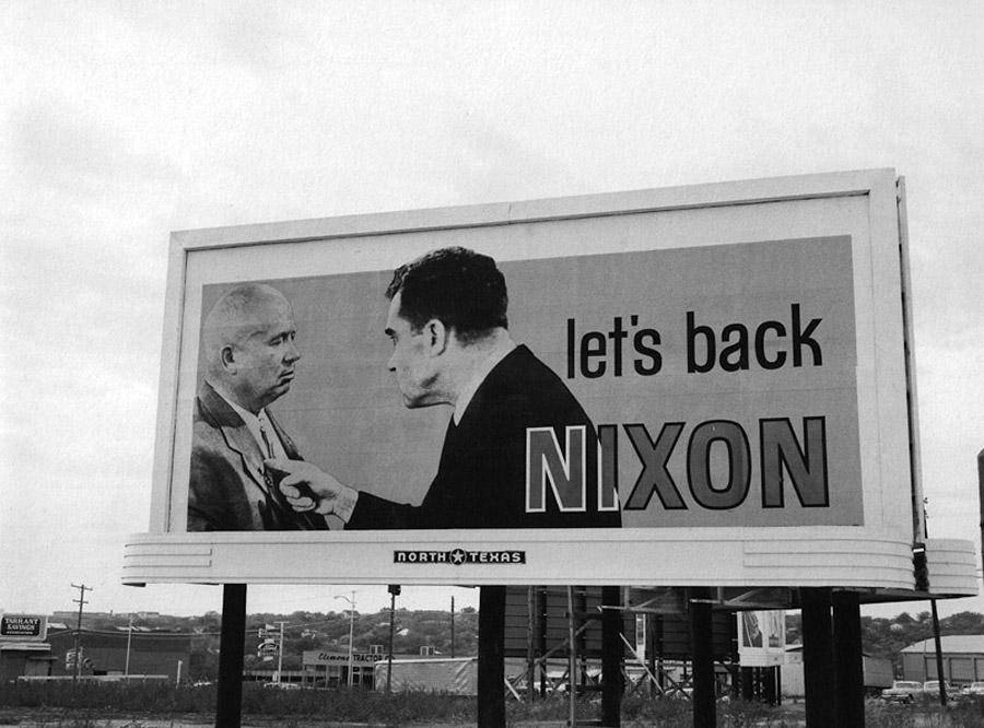 Let's back Nixon, 1960