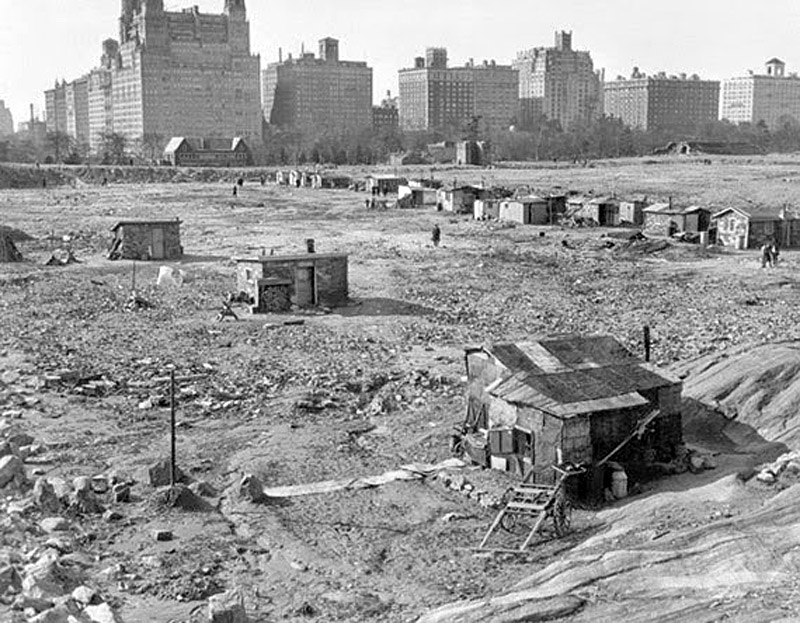 Central Park in the 1930