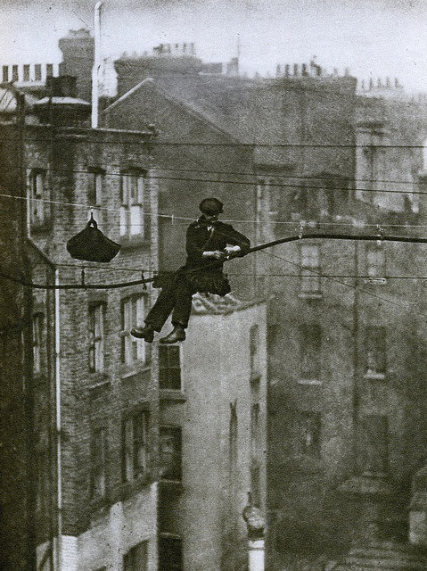London 1920s, a telephone engineer