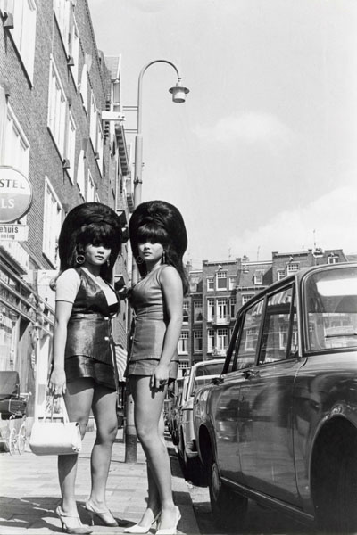 Two women in Amsterdam 1960s Photo by Ed Van der Elsken.