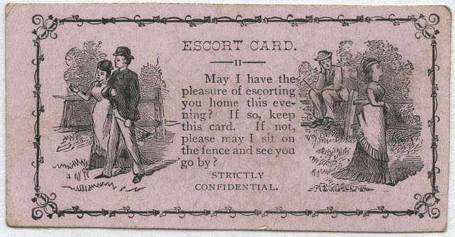 Vintage Acquaintance Cards from the Mid-20th Century (10)