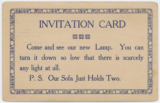 Vintage Acquaintance Cards from the Mid-20th Century (7)