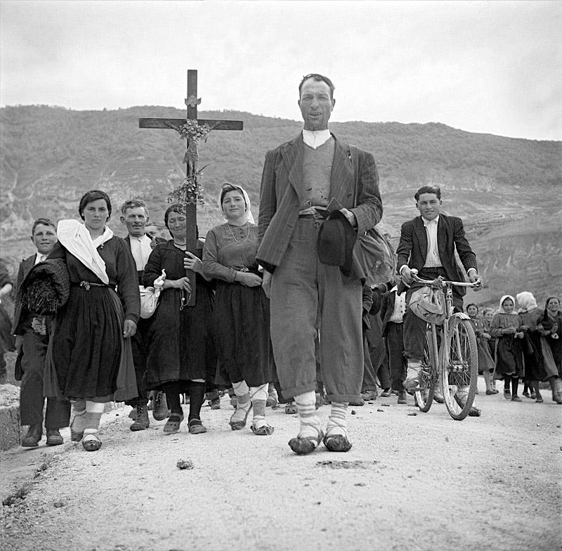 Pilgrimage, Monte Gargano, Italy, 1950
