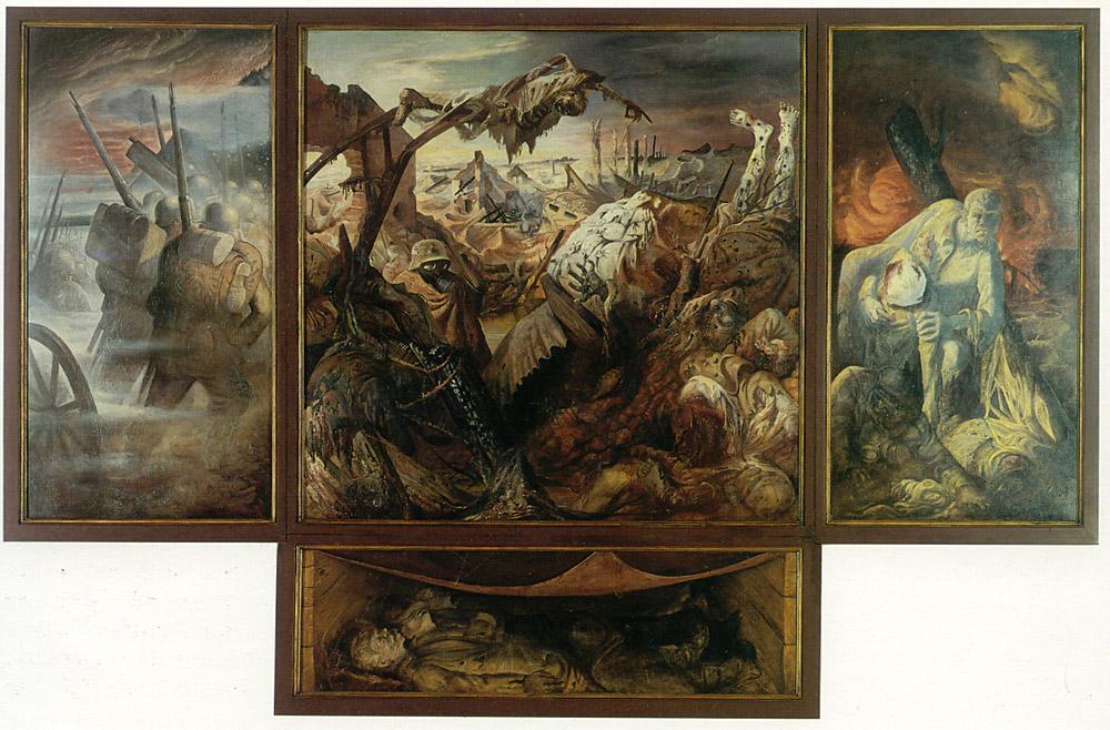 Dix - Der Krieg, 1929-32