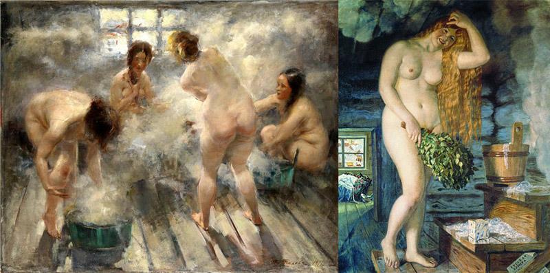 Тихнов В. Русская баня 1916