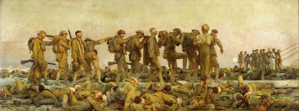 Gassed — John Singer Sargent