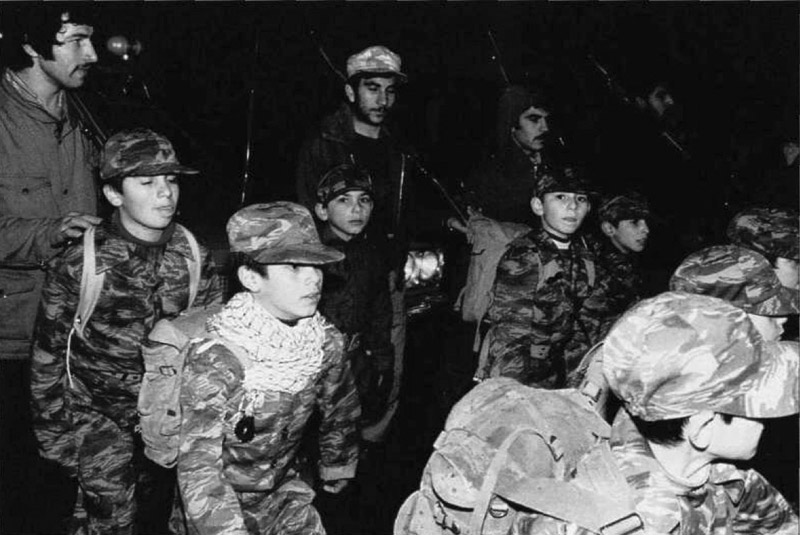Iran made extensive use of child soldiers
