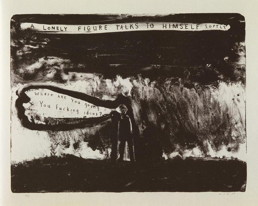 David Lynch. A Lonely Figure Talks to Himself Softly, 200