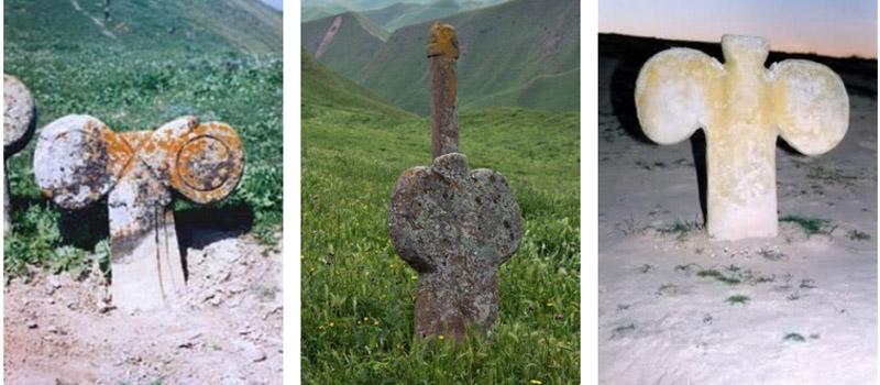 древнее иранское кладбище