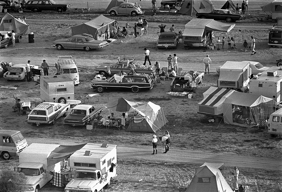 Apollo 11 Liftoff Spectators, July 16, 1969