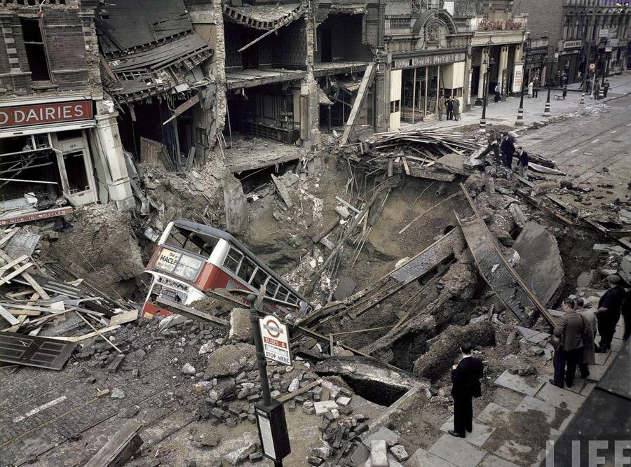 Bomb Damage, Sept. 1940 - London