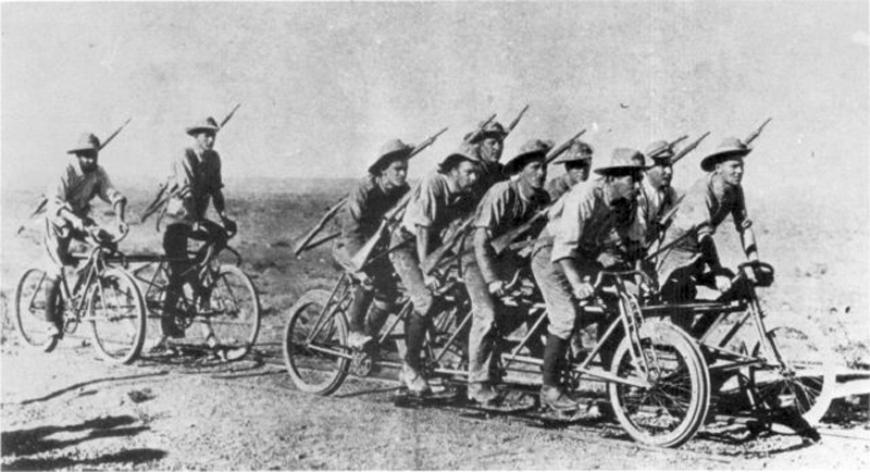 A Boer war cycle during the Boer Wars