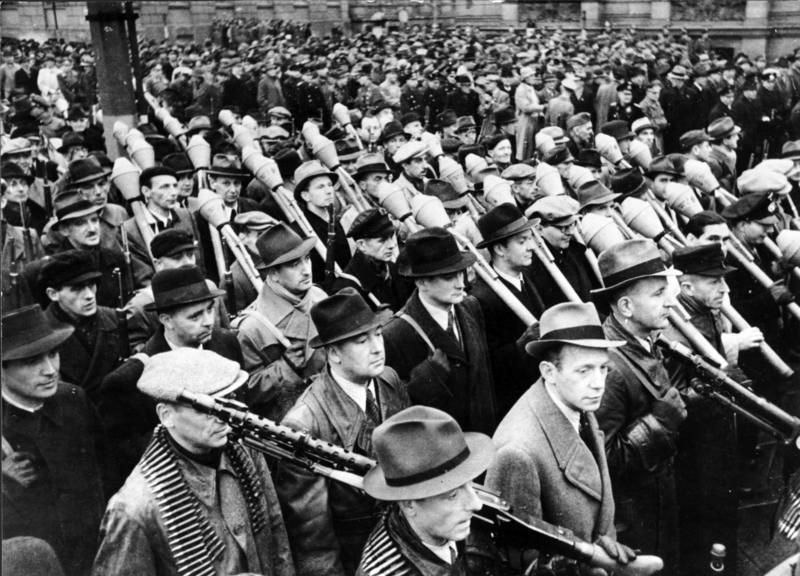 German citizen militia (Volkssturm) 1944